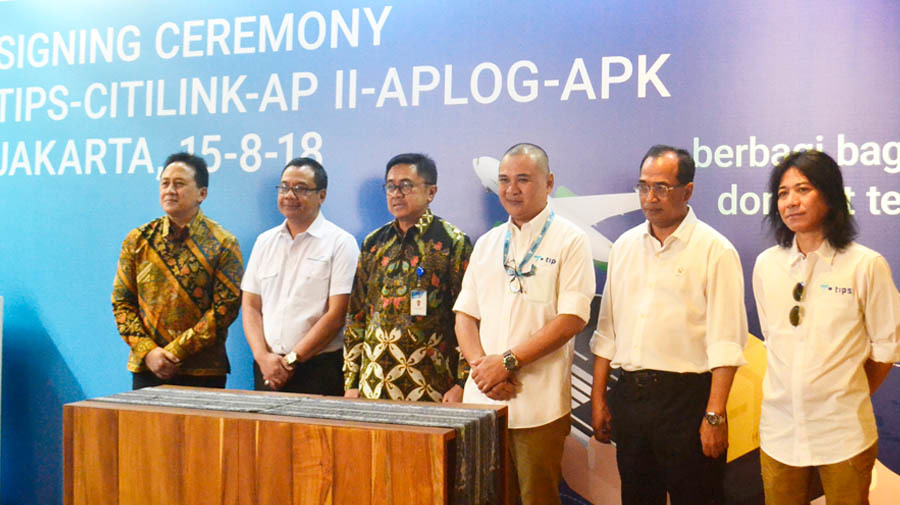APLog, TIPS Inovasi, and Citilink Collaborate to Optimize The Baggage for Delivery