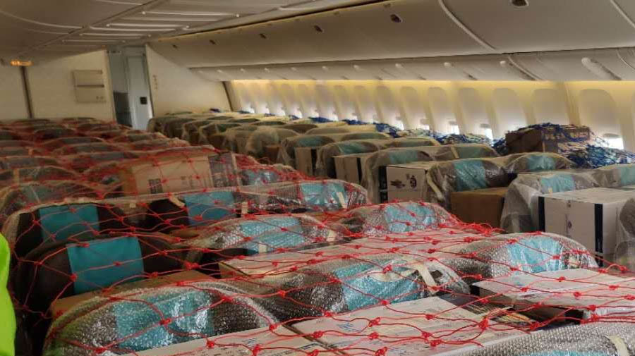 Airlines Load Cargoes Into The Passengers' Cabins to Meet Demands